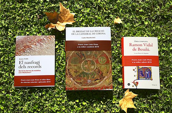 La Xarxa Vives guardona tres llibres d'Edicions de la Universitat de Barcelona